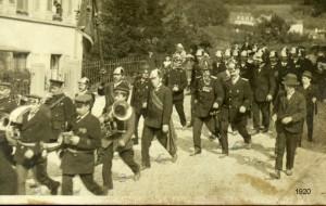 Feuerwehrkapelle 1920