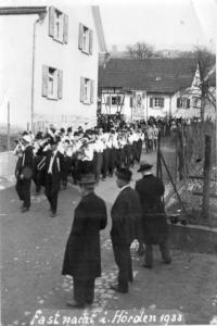 fastnacht 1933